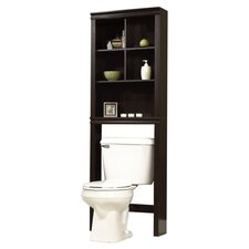 "Peppercorn 23.31"" x 68.58"" Free Standing Over the Toilet"