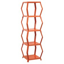 "Soft Modern 54.72"" Etagere Bookcase"