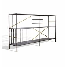 """Sauder Boutique 37.72"""" Accent Shelves Bookcase"""