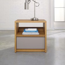 Soft Modern 1 Drawer Nightstand