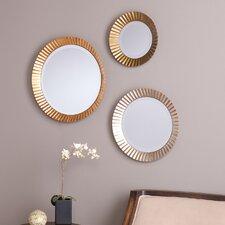 Lora 3 Piece Wall Mirror Set