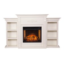 Tabor Infrared Electric Fireplace