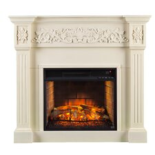 Claridge Infrared Carved  Electric Fireplace