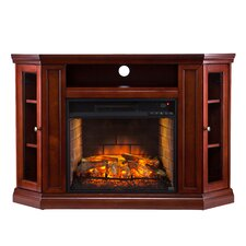 Chamberlain Corner Media Infrared Electric Fireplace