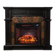 Middleton Convertible Slate Infrared Electric Fireplace