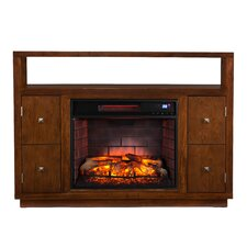 Jennings Media Console/Stand Infrared Electric Fireplace