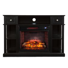 Sutton Media Console/Stand Infrared Electric Fireplace
