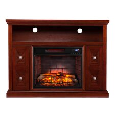 Faulkner Media Console/Stand Infrared Electric Fireplace