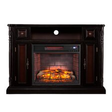Gibbs Media Stand Infrared Electric Fireplace