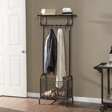 Roper Metal Storage Entryway Rack