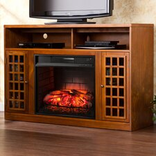 Savery TV/Media Stand Infrared Electric Fireplace