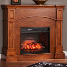 Petty Corner Convertible Infrared Electric Fireplace