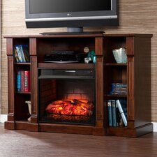 """Caswell 50"""" TV Stand with Infrared Electric Fireplace"""