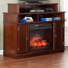 Lincoln Media Console/Stand Infrared Electric Fireplace