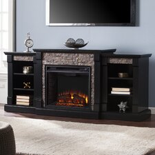 Galley Faux Stone Electric Fireplace