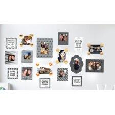 8 Piece Sticker Frame Wall Decal Set