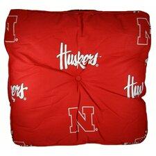 NCAA Nebraska Floor Pillow