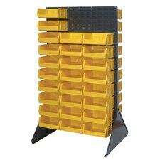 Double Sided Louvered Rack