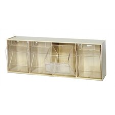 4-Compartment Tip-Out Bin