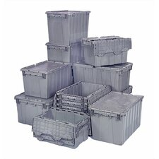 9.50 Gallon Heavy Duty Attached Top Storage Container