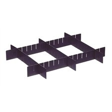 Conductive Dividable Grid Storage Container Short Dividers for DG92035CO (Set of 6)