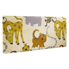 Jungle Party Single Panel Headboard