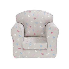 Little Dogs Loose Cover Chair