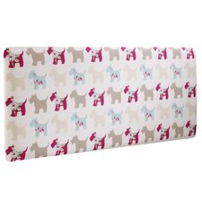 Scottie Dogs Single Panel Headboard