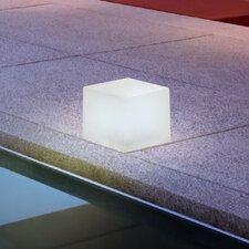 LED-Solarleuchte 2-flammig Würfel