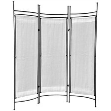 "57"" x 58"" Privacy Screen 3 Panel Room Divider"