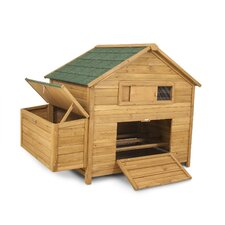 Chicken Fort High Capacity Coop with 3 Roosting Bar