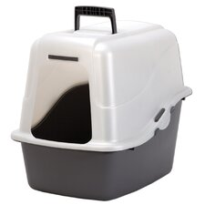 "18.9"" x 15.1"" x 17"" Large Hooded Litter Pan"