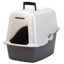 Large Deluxe Hooded Litter Box