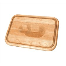"""24"""" Versatile Meat Holding Wedge / Trench Cutting Board"""