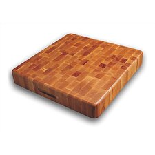 The Slab End Grain Block with Finger Grooves
