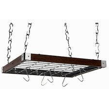 Rectangular Ceiling Mounted Pot Rack