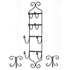 Wall Mounted High Quality Towel Rack and Towel Hook Set