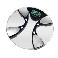 Glass Body Fat / Body Water Bathroom Scale