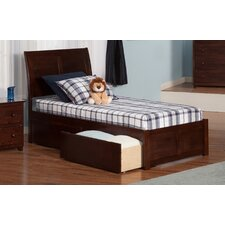 Portland Extra Long Twin Sleigh Bed with Storage