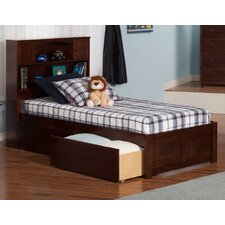 Newport Extra Long Twin Platform Bed with Storage