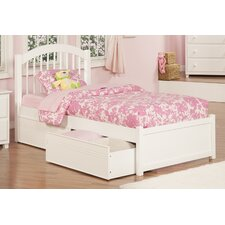 Windsor Twin XL Panel Bed with Drawers