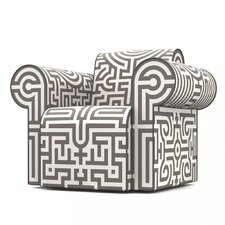 Labyrinth Arm Chair