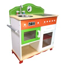 My Little Chef Play Kitchen with Electrical Stove