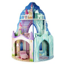 Dual Theme Dollhouse - Ice Mansion & Dream Castle