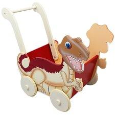 Dinosaur Kingdom Children's Push Cart