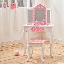 Fashion Prints Vanity Set with Mirror