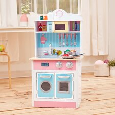 My Little Chef Pastel Small Play Kitchen