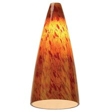 Ambiance Transitions Fuego Swirl Glass Shade