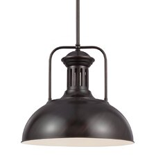 Beacon Street 1 Light Inverted Pendant