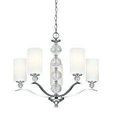 Englehorn 5 Light Chandelier